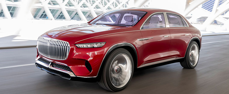 Mercedes-Maybach Ultimate Luxury fahrend